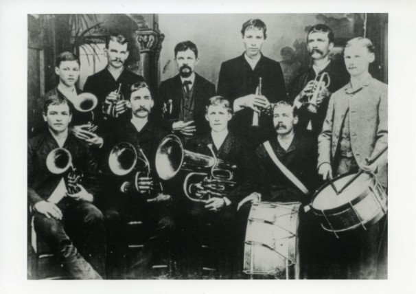 Loesscher Band, Cat Spring, Texas. Photo courtesy Goethe Institue, Houston, Texas.